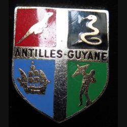 ECU de gendarmerie des Antilles Guyane de fabrication Drago Paris sans écrou