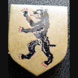 ECU de Gendarmerie du détachement de la gendarmerie à Berlin sans fabricant en émail (vieil insigne)