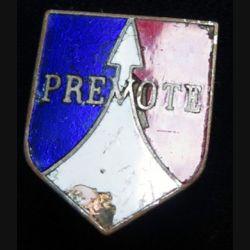 ECU de Gendarmerie Prévôté du 2° corps d'armée forces françaises Allemagne AB G. 2835 sans écrou éclat émail
