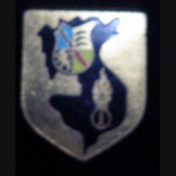 Écu de gendarmerie de la 1° légion garde républicaine de marche Drago Paris sans écrou refrappe