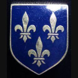 Écu de Gendarmerie départementale de la région parisienne Drago G. 2137 bleu noir