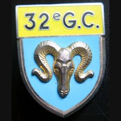 32° GC : 32° Groupement de camp DELSART G. 2092 en relief