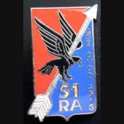 51° RA :  51° régiment d'artillerie de fabrication Drago G.2242