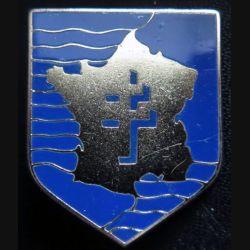 2° DB : insigne métallique de la 2° division blindée fabriqué par Drago
