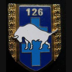 126° RI : 126° régiment d'infanterie de fabrication Boussemart G. 2766