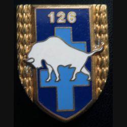 126° RI : 126° régiment d'infanterie de fabrication Fraisse G. 2766