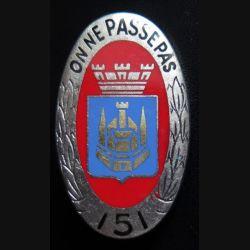 151° RI : 151° régiment d''infanterie de fabrication Drago Paris H. 117
