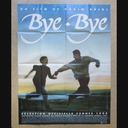 "AFFICHE FILM : affiche "" Bye-Bye "" de 1995 dimension 115 x 158 cm (E030)"