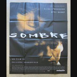 """AFFICHE FILM : affiche de cinéma du film """"Sombre"""" de 1999 dimension 115 x 158 cm (E030)"""