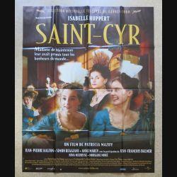 """AFFICHE FILM : affiche de cinéma du film """"Saint-Cyr"""" de 1999 dimension 115 x 158 cm (E030)"""