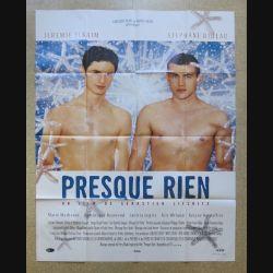 """AFFICHE FILM : affiche de cinéma du film """"Presque rien"""" 2000 dimension 115 x 158 cm (E030)"""
