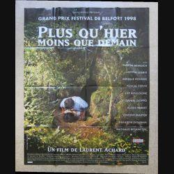 """AFFICHE FILM : affiche de cinéma du film """" Plus qu'hier moins que demain """" dimension 115 x 158 cm (E030)"""