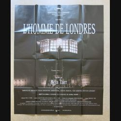 """AFFICHE FILM : affiche de cinéma du film """"L'Homme de Londres"""" 2008 dimension 115 x 158 cm (E030)"""