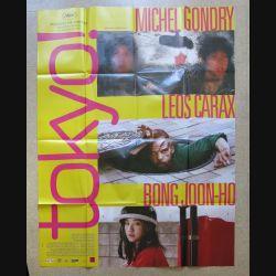 """AFFICHE FILM : affiche de cinéma du film """"Tokyo!"""" 2008 dimension 115 x 158 cm (E030)"""