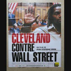 """AFFICHE FILM : affiche de cinéma du film """"Cleveland contre Wall Street"""" dimension 115 x 158 cm (E031)"""