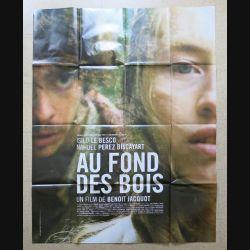 """AFFICHE FILM : affiche de cinéma du film """"Au fond des bois"""" dimension 115 x 158 cm (E031)"""