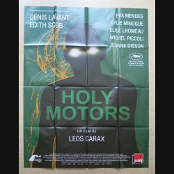 "AFFICHE FILM : affiche de cinéma du film "" Holy Motors"" dimension 115 x 158 cm (E030)"