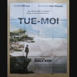 """AFFICHE FILM : affiche de cinéma du film """" Tue-moi """" dimension 115 x 158 cm (E031)"""