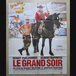 """AFFICHE FILM : affiche de cinéma du film """" Le grand soir """" dimension 115 x 158 cm (E031)"""