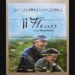 """AFFICHE FILM : affiche de cinéma du film """" 11 fleurs """" dimension 115 x 158 cm (E031)"""