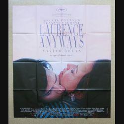 """AFFICHE FILM : affiche de cinéma du film """"Laurence Anyways"""" dimension 115 x 158 cm (E031)"""