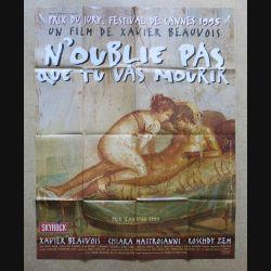 """AFFICHE FILM : affiche de cinéma du film """"N'oublie pas que tu vas mourir"""" dimension 115 x 158 cm (E032)"""