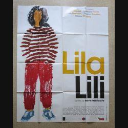 """AFFICHE FILM : affiche de cinéma du film """"Lila Lili"""" de 1999 dimension 115 x 158 cm (E032)"""