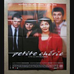 """AFFICHE FILM : affiche de cinéma du film """"Petite chérie"""" 2000 dimension 115 x 158 cm (E032)"""