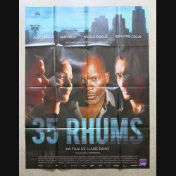 """AFFICHE FILM : affiche de cinéma du film """"35 Rhums"""" de 2009 dimension 115 x 158 cm (E032)"""