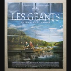 """AFFICHE FILM : affiche de cinéma du film """" Les géants """" dimension 115 x 158 cm (E033)"""