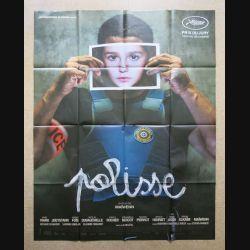 """AFFICHE FILM : affiche de cinéma du film """"Polisse"""" dimension 115 x 158 cm (E033)"""