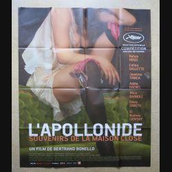 """AFFICHE FILM : affiche de cinéma du film """"L'Apollonide"""" dimension 115 x 158 cm (E033)"""