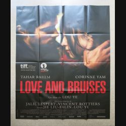 "AFFICHE FILM : affiche de cinéma du film "" Love and bruises "" dimension 115 x 158 cm (E033)"
