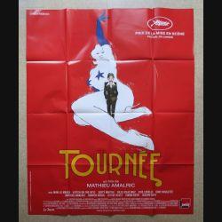 """AFFICHE FILM : affiche de cinéma du film """"Tournée"""" dimension 115 x 158 cm (E033)"""