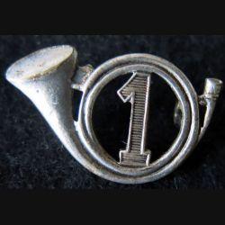 1° GCP : insigne métallique du 1° groupe de chasseurs portés de fabrication Drago Paris) H. 120