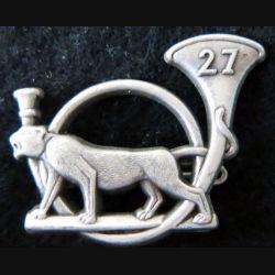 27° BCA : insigne métallique du 27° bataillon de chasseurs alpins Boussemart 2001