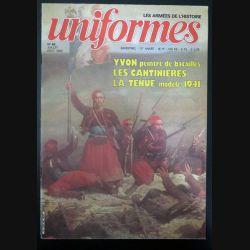 UNIFORMES n° 68 Juillet Août 1982  (C200)