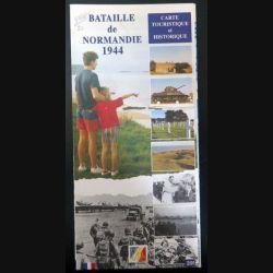 Carte touristique et historique de la Bataille de Normandie 1944 (C200)