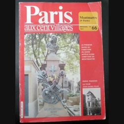 PARIS AUX CENT VILLAGES n° 66 Montmartre (C200)
