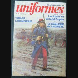 UNIFORMES n° 70 Nov déc 1982(C1 1880-90 L'infanterie (C200)