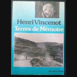 livre Terres de Mémoire de henri Vincenot  (C200)