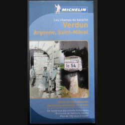 Carte Michelin les champs de bataille Verdun, Argonne, Saint-Mihiel (C200)