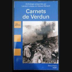 Carnets de verdun chez Librio (C200)