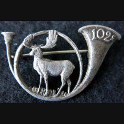 102° BCA : 102° Bataillon de chasseurs alpins  épingle à bascule