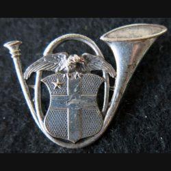 13° BCA : insigne métallique du 13° bataillon de chasseurs alpins de fabrication Arthus Bertrand Paris