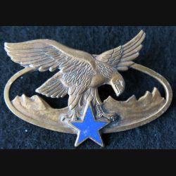 BQTM : Brevet de qualification des troupes de montagne de fabrication Drago Paris G. 2465 émail