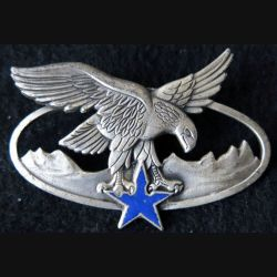 CDHM CUHM : Brevet de chef de détachement ou d'unité de haute montagne fabrication Drago Paris G. 2465 émail
