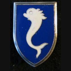 12° RC : insigne métallique du 12° régiment de cuirassiers de fabrication Delsart H. 169