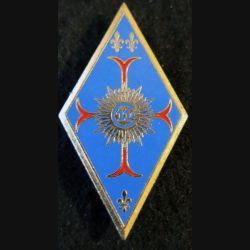 11° RC : insigne métallique du 11° régiment de cuirassiers de fabrication Delsart G. 3016