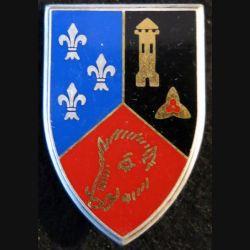 102° DI : Insigne métallique de la 102° division d'infanterie de fabrication Fraisse Paris G. 2834